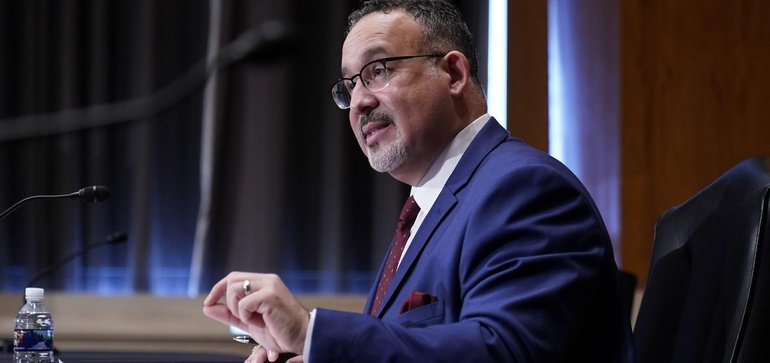 Senate confirms Miguel Cardona as Education Secretary